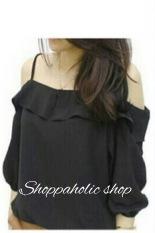 shoppaholic-shop-sabrina-twistcone-hitam-8630-0482877-faec168393acdcc8aad637deb57acd02-catalog_233 Koleksi List Harga Atasan Wanita Santai Terbaik bulan ini