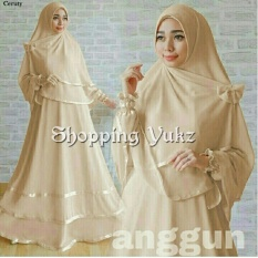 Shopping Yukz Baju Gamis Muslim Syari FITRI - COKSU ( Dapat Jilbab ) /Dress Muslim / Fashion Muslim / Baju Muslimah / Gaun Muslim / Gamis Wanita / Hijab Muslim/ Gamis Murah