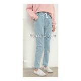 Review Shopping Yukz Celana Boyfriend Wanita Claudia Kualitas Premium Soft Blue Celana Panjang Celana Jeans Wanita Boyfriend Jeans Celana Wanita Shopping Yukz
