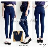 Review Shopping Yukz Celana Jeans Wanita Skinny Highwaist Hunny Navy Kualitas Premium Celana Panjang Jeans Wanita Highwaist Jeans Celana Wanita Jeans Wanita Long Pants Highwaist Shopping Yukz Di Dki Jakarta