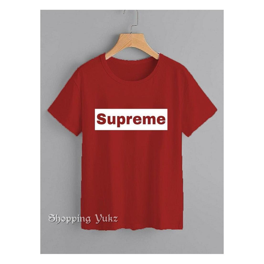 Shopping Yukz Kaos Wanita SUPREME / T-shirt Wanita / Kaos Cewek / Tumblr Tee