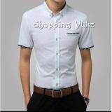 Toko Shopping Yukz Kemeja Pria Lengan Pendek Jemmy White Kemeja Formal Pria Kemeja Casual Pria Baju Pria Atasan Pria Kemeja Kerja Lengkap