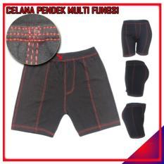 Short Pants Hitam Celana Pendek Boxer Celana Dalam Cewek Cowok Unisex Ketat Olahraga Futsal Fitness Running Renang Diving Sepeda Murah Grosir