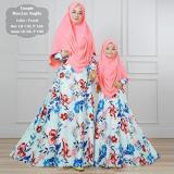 Harga Silentriver88 Gamis Muslim Syari Ibu Dan Anak Lux Nagita Couple Murah