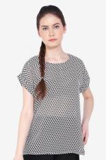 Simply Estra  Women Clothing Tops Blouses & Shirts  Wanita Busana Atasan Blus & Kemeja Multicolor Kombinasi Diskon discount murah bazaar baju celana fashion brand branded