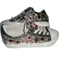 Jual Sing Cia Sepatu Black Doniso Flowers Grosir