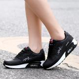Jual Siswa Sepatu Running Korea Fashion Style Datar Sepatu Hitam Baru