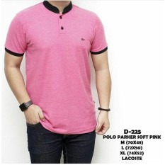 SIX T SHIRT POLO PARKER SOFT PINK
