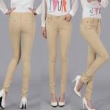 Spesifikasi Ukuran 25 34 Wanita Permen Berwarna Jeans Pensil Kapas Celana Legins Fashion Jeans Femme Mid Pinggang Wanita Slim Fit Skinny Jeans Wanita Panjang Penuh 20 Warna Khaki Intl Online