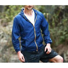 Ulasan Tentang Sk Sa Men S Windproof Jacket Sun Perlindungan Uv Terkompresi Kulit Untuk Pria Sport Outdoor Menjalankan Hiking Jaket Intl