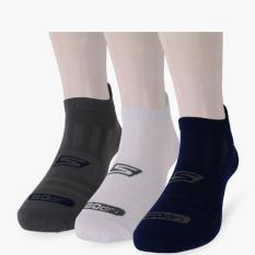 Skechers 3 Packs Low Cut Performance Men S Socks Multicolor Skechers Diskon 40