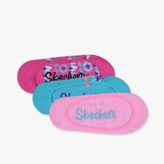 Skechers 3 Packs Superlow Liner Girl's Socks - Multicolor
