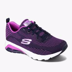 Beli Skechers Air Varsity Women S Sneakers Shoes Ungu Online Murah