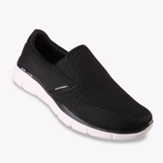 Spesifikasi Skechers Equalizer Double Play Men S Sneakers Hitam Dan Harganya