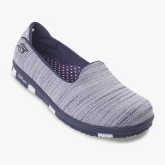 Skechers Go Mini Flex Walk Women S Shoes Navy Abu Abu Skechers Murah Di Indonesia