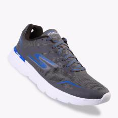 Harga Skechers Gorun 400 Disperse Men S Running Shoes Charcoal Asli Skechers