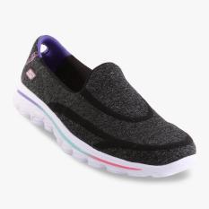 Skechers GOwalk 2 Super Sock 2 Girls' Sneakers - Hitam