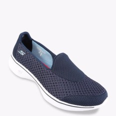 Beli Skechers Gowalk 4 Kindle Women S Lifestyle Shoes Navy Terbaru