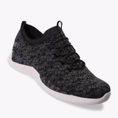 Skechers Matrixx Gray Scale Women S Sneakers Shoes Hitam Murah