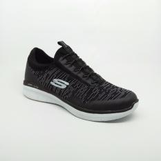 Sepatu Skechers S Mens Synergy 2 Turris Athletic Black Sneakers Shoes Diskon
