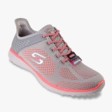 Review Skechers Microburst Supersonic Women S Sneakers Grey Indonesia