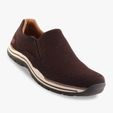 Jual Skechers Relaxed Fit Expected Gomel Men S Sneakers Cokelat Skechers Di Indonesia