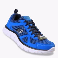 Harga Skechers Track Bucolo Men S Sneakers Shoes Biru Skechers Original