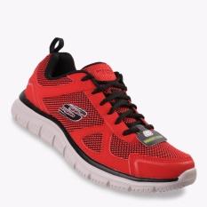 Toko Skechers Track Bucolo Men S Sneakers Shoes Merah Di Dki Jakarta