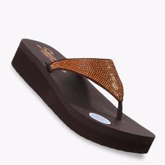 Jual Skechers Vinyasa Nam On Women S Sandals Cokelat Skechers