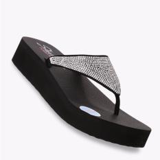 Promo Skechers Vinyasa Nam On Women S Sandals Hitam Di Jawa Barat