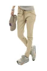 Beli Pensil Skinny Merenggang Celana Khaki Cahaya Seken