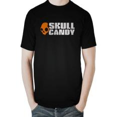 Jual Skull Candy T Shirt Hitam Jawa Barat Murah