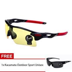 Skytop Kacamata Sport Outdoor Kacamata Sepeda Kacamata Olahraga Free 1 Item
