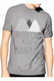 Jual Slim And Fit Faith T Shirt Abu Abu Slim And Fit Original