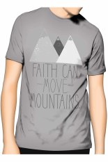 Beli Slim And Fit Faith T Shirt Abu Abu Cicilan