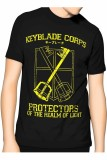Jual Slim And Fit Keyblade T Shirt Hitam Slim And Fit Murah