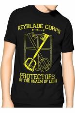 Harga Slim And Fit Keyblade T Shirt Hitam Slim And Fit Baru