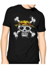 Harga Slim And Fit Pirate King T Shirt Hitam Slim And Fit Terbaik