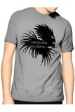 Spesifikasi Slim And Fit Shinigami T Shirt Abu Abu Slim And Fit