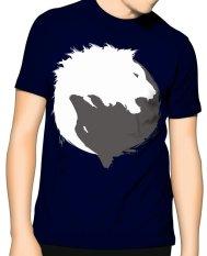 Jual Slim And Fit Yin Yang T Shirt Dark Blue Di Dki Jakarta