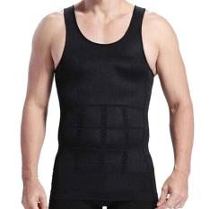 Katalog Slim Lift Body Shaping For Man Slimming Shirt Baju Singlet Pelangsing Pria Hitam Universal Terbaru