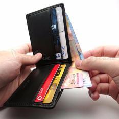 Jual Slim Mini Compact Minimalist Bifold Mens Wallet Dompet Tipis Pria Minimalis Kulit Sapi Asli Sl1 Mini Termurah