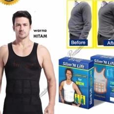 Slim n Lift Body Shaping For Man Slimming Shirt For Men- Slim Fit Baju Singlet / Korset Pelangsing