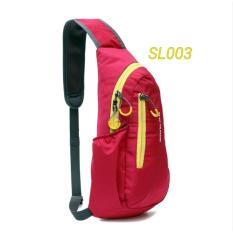SLING BAG KEEP WALKING / TAS SLEMPANG SPORTY WATERPROOF / TAS GAUL ANTI AIR
