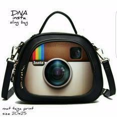 Sling Bag Korean Style Instagram (Old) / Tas Selempang Wanita Korean Style - Multicolor