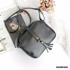 Sling Bag Kuncir - Black