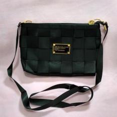 Jual Sling Bag Tas Selempang Mini Bag Fashion Wanita Motif Tikar Black 1Pc Di Bawah Harga