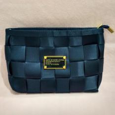 Beli Sling Bag Tas Selempang Mini Bag Fashion Wanita Motif Tikar Navy Blue Pakai Kartu Kredit