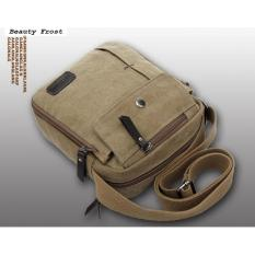 Harga Sling Bag Tas Selempang Pria Cowok Import Khaki Sa845 Yg Bagus