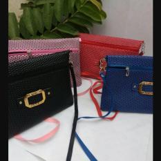 Sling Bag tas tangan lipat ziper- tas rantai/tas selempang wanita